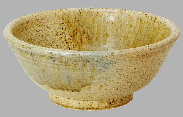 古陶三彩手洗鉢(器具付) (信楽焼・陶器・手洗い鉢)
